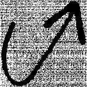 XY- Marker Doodle- Black Arrow 1