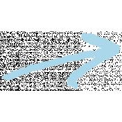 XY- Marker Doodle- Blue Arrow 2