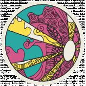 Summer Splash- Stickers- Beachball