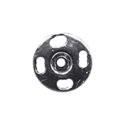 XY- Elements- Hexagons- Metal Button 6