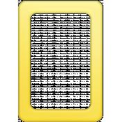 Summer Splash- Elements- Yellow Frame