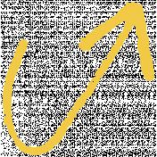 XY- Marker Doodles- Yellow Arrow 1