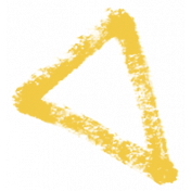 XY- Marker Doodles- Yellow Triangle