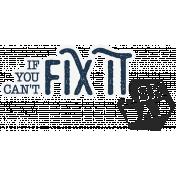XY- Elements- Sticker- Fix It
