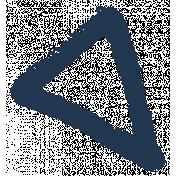 XY- Marker Doodles- Navy Triangle