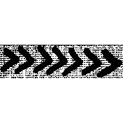 XY- Marker Doodle- Black Arrow 6