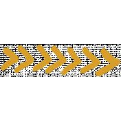 XY- Marker Doodle- Mustard Arrow 6