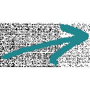 XY- Marker Doodles- Teal Arrow 2