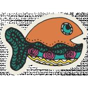 Summer Splash- Stickers- Fishy