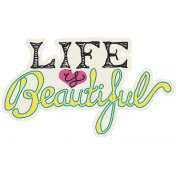 Summer Splash- Stickers- Life Is Beautiful