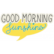 Summer Splash- Stickers- Good Morning Sunshine