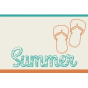 Summer Splash- Journal Cards- Summer