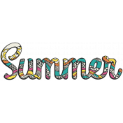 summer splash- Word Kit- Summer