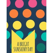 Summer Splash- Journal Cards- Textured- Dots