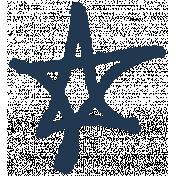 XY- Marker Doodles- Navy Star 3