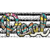 Summer Splash- Textured Word Kit- Pool