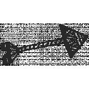 Work Day- Zentangle Doodles- Arrow 1