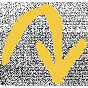 XY- Marker Doodles- Yellow Arrow 5