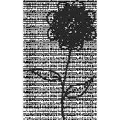 Work Day- Zentangle Doodles- Flower 5