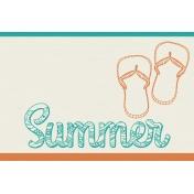 Summer Splash- Journal Cards- Textured- Summer