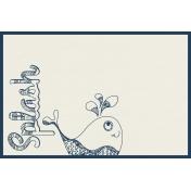 Summer Splash- Journal Cards- Textured- Splash