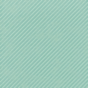 Work Day- Papers Kit- Teal Diagonal Stripes