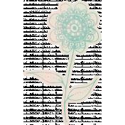 Work Day- Elements Kit- Zentangle Flower 5
