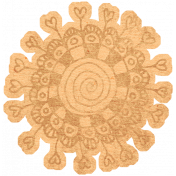 Work Day- Elements Kit- Zentangle Flower 6