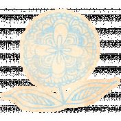 Work Day- Elements Kit- Zentangle Flower 9