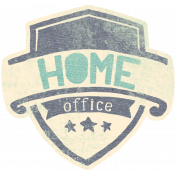 Work Day- Elements Kit- Word Art- Home Office