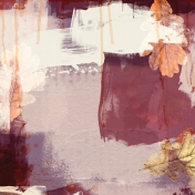Autumn Day- Painted Papers- Painted Mess 2
