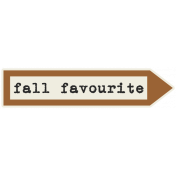 Autumn Day- Elements- Word Art- Fall Favourite