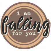 Autumn Day- Elements- Word Art- Falling For You