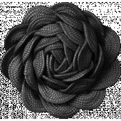 That Teenage Life- Elements- Black Flower
