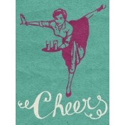 Pour Me A Wine- Journal Cards- Cheers