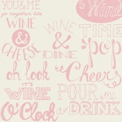 Pour Me A Wine- Papers- Words