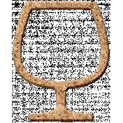 Pour Me A Wine- Elements- Cork Wine Glass