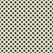 Thankful Harvest- Papers- Black Polka Dots