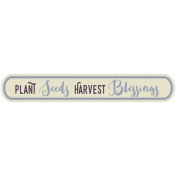 Thankful Harvest- Elements- Harvest Blessings