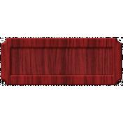 Thankful Harvest- Elements- Wood shape Tag 2