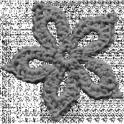 Crochet Flowers- Templates- Crochet01- Snowflake