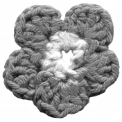 Crochet Flowers- Templates- Crochet04- Flower
