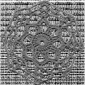 Crochet Flowers- Templates- Crochet06- Large Doily