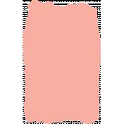 Create Something- Elements- Peach Paint Brush 2