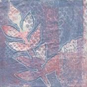 Create Something- Paper- Leaf Gelli 1