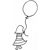 Sweet Dreams- Templates- Balloon Girl