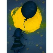 Sweet Dreams- Journal Cards- Sky 3x4