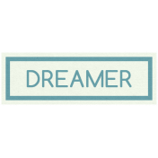 Sweet Dreams- Elements- Wordstrip- Dreamer