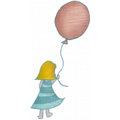 Sweet Dreams- Elements- Balloon Girl