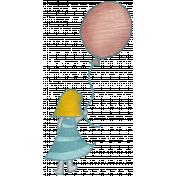 Sweet Dreams- Elements- Balloon Girl